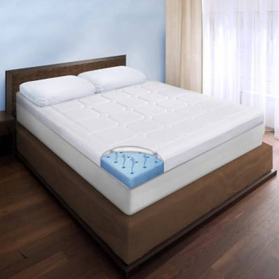 product image for therapedic luxury quilted deluxe 3 inch memory foam bed topper 2 - Memory Foam Bed Frame
