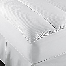 therapedic® 500-thread-count cotton mattress pad in white - bed