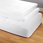 tempur pedic tempur topper supreme 3 inch mattress topper in white bed bath beyond. Black Bedroom Furniture Sets. Home Design Ideas