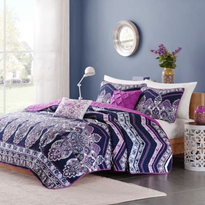 Buy Purple Comforter Set from Bed Bath & Beyond