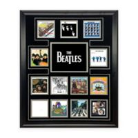 The Beatles UK Album Discography Collage Canvas Wall Art