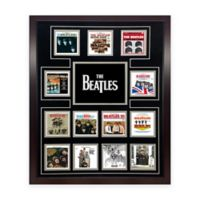 The Beatles US Album Discography Collage Canvas Wall Art