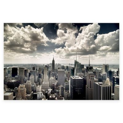 Elementem Photography NYC New York Skyline Photographic Canvas Wall Art
