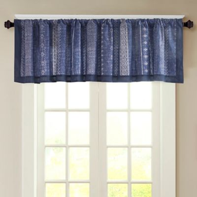 Buy Navy Blue Valances from Bed Bath & Beyond