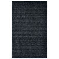 Feizy Roma 5-Foot x 8-Foot Area Rug in Black