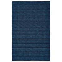 Feizy Roma 5-Foot x 8-Foot Area Rug in Dark Blue