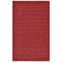 Feizy Roma 2-Foot 3-Inch x 3-Foot 9-Inch Accent Rug in Red