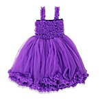 RuffleButts® Size 0-12M Princess Petti Dress in Purple