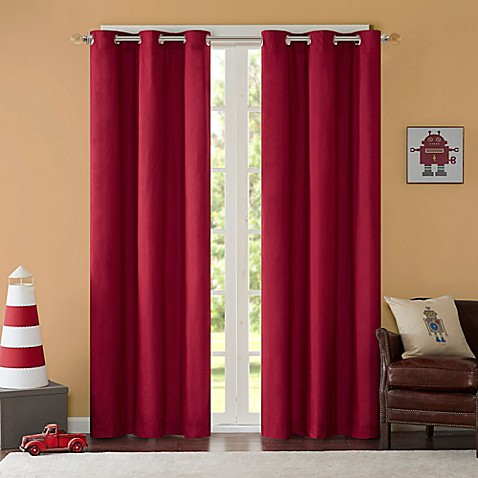 Buy Mi Zone Cobi 63 Inch Grommet Top Lined Window Curtain