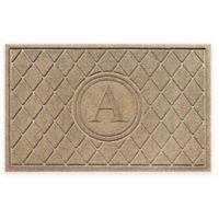 Weather Guard™ 23-Inch x 35-Inch Argyle Door Mat in Camel