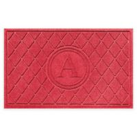 Weather Guard™ 23-Inch x 35-Inch Argyle Doormat in Red