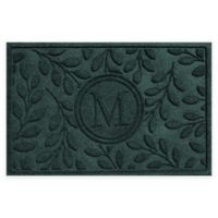 Weather Guard™ 23-Inch x 35-Inch Brittany Leaf Door Mat in Evergreen