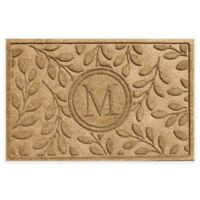 Weather Guard™ 23-Inch x 35-Inch Brittany Leaf Door Mat in Gold