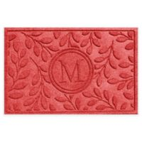 Weather Guard™ 23-Inch x 35-Inch Brittany Leaf Door Mat in Red