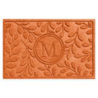 Weather Guard™ 23-Inch x 35-Inch Brittany Leaf Door Mat in Orange