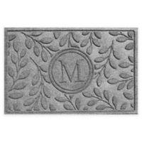 Weather Guard™ 23-Inch x 35-Inch Brittany Leaf Door Mat in Medium Grey