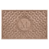 Weather Guard™ Ellipse Door Mat in Medium Brown