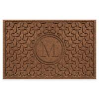 Weather Guard™ Ellipse Door Mat in Dark Brown