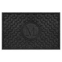 Weather Guard™ Ellipse Door Mat in Charcoal