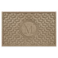 Weather Guard™ Ellipse Door Mat in Camel