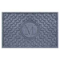 Weather Guard™ Ellipse Door Mat in Blue
