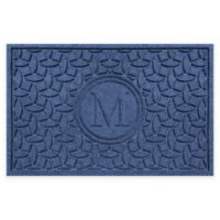 Weather Guard™ Ellipse Door Mat in Navy