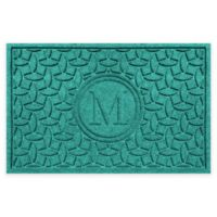 Weather Guard™ Ellipse Door Mat in Aquamarine
