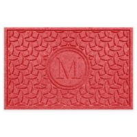 Weather Guard™ Ellipse Door Mat in Red