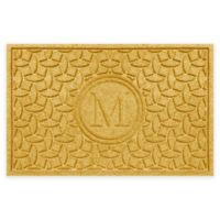 Weather Guard™ Ellipse Door Mat in Yellow