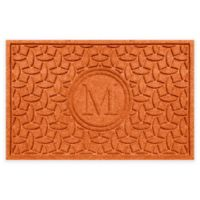 Weather Guard™ Ellipse Door Mat in Orange