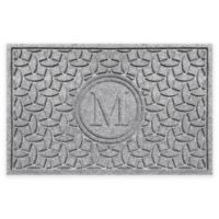 Weather Guard™ Ellipse Door Mat in Medium Grey