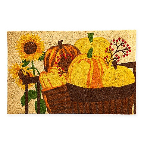 Pumpkin Patch Coir Door Mat Insert Bed Bath Amp Beyond