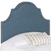 Safavieh Hallmar Twin Headboard in Denim Blue