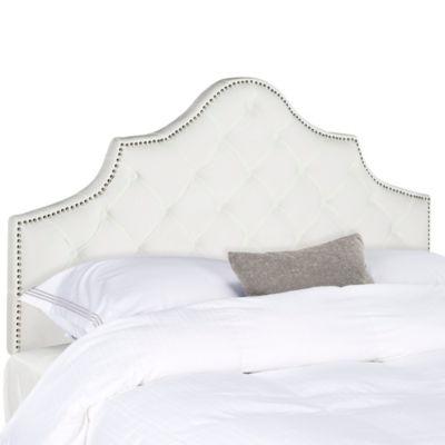 buy white queen headboard from bed bath  beyond, Headboard designs