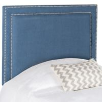 Safavieh Cory Twin Headboard in Navy