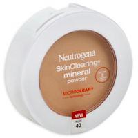 Neutrogena Skinclearing® .38 oz. Mineral Powder in Nude 40