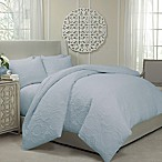Vue® Barcelona Convertible King Coverlet-to-Duvet Cover Set in Periwinkle