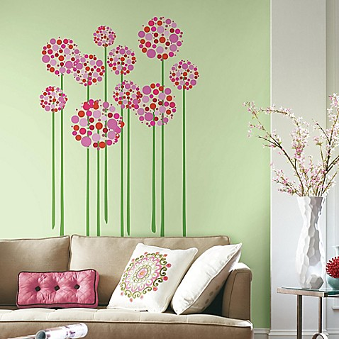 Decorative Wall Decals wall decor - printed canvas, peel & steel wall decals - bed bath