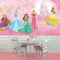 Disney Princess Enchanted XL Chair Rail Prepasted 10.5-Foot x 6-Foot Mural