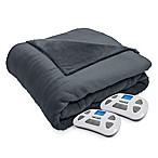 Therapedic® Silky Plush Queen Warming Blanket in Ash