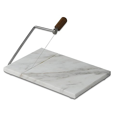image of Artisanal Kitchen Supply® Marble Cheese Slicer