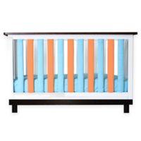 Go Mama Go Designs® 2-Pack Cotton Couture Wonder Bumpers in Orange/Aqua