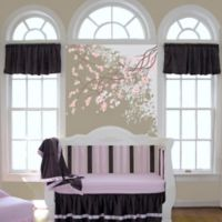 Go Mama Go® Designs Luxurious Minky Window Valance in Chocolate
