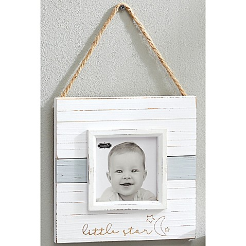 Mud Pie 174 Quot Little Star Quot Distressed Wood Picture Frame In