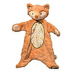 Fox Sshlumpie Blanket Plush in Ivory/Orange