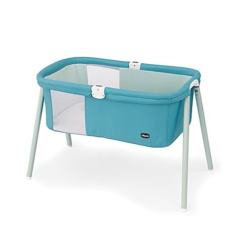 Chicco® LullaGo™ Portable Basinet in Blue