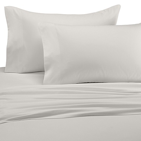 Wamsutta® Perfect Pinpoint Open Stock Twin Extra Long Fitted Sheet in Ivory