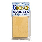 Pop Up Sponges (Set of 6)