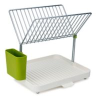 Joseph Joseph® 2-Tier Dish Drainer and Y-Rack in Green
