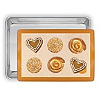 Mrs. Anderson's Baking Half-Sheet Pan & Mat 2-Piece Set
